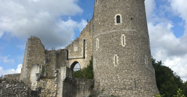 château robert le diable visite famille ruines