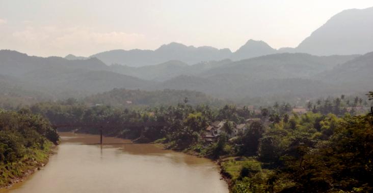 paysage luang prabang laos asie voyage
