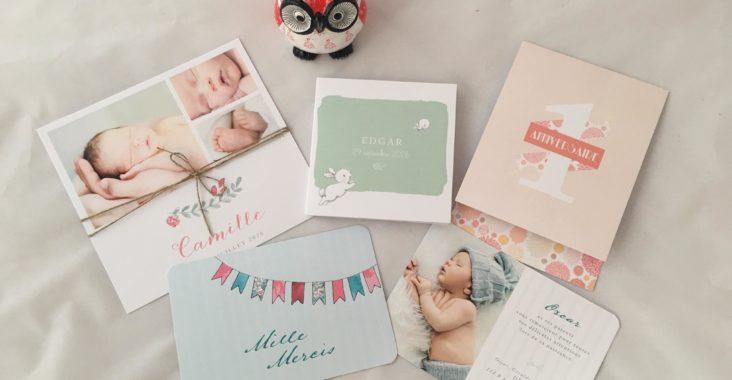 faire-part, enfant, bébé, naissance, anniversaire, remerciement