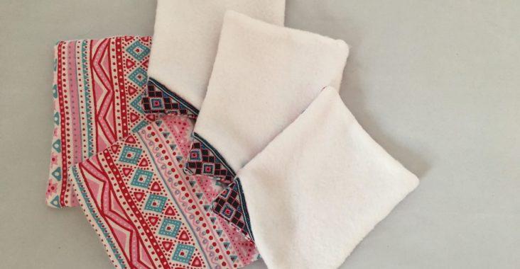 lingette lavable réutilisable couture